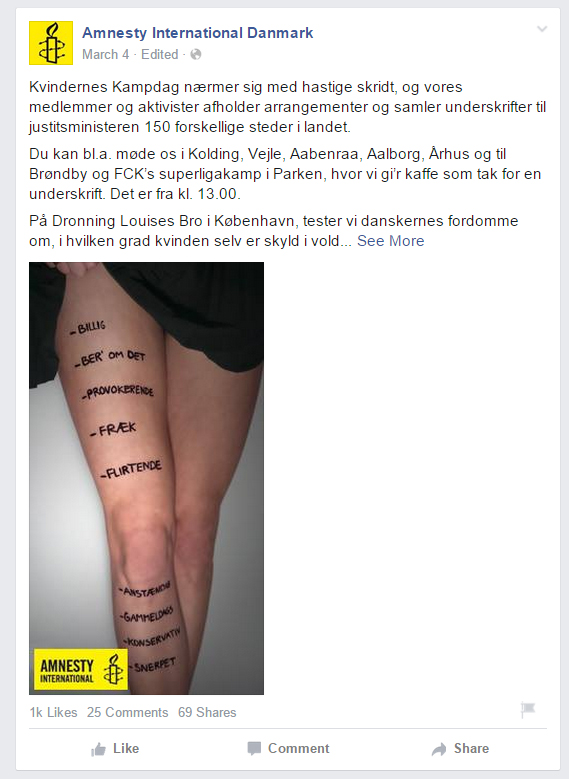 Amnesty: My Body My Rights poster af ideal Pixel og Christoffer Chrintz