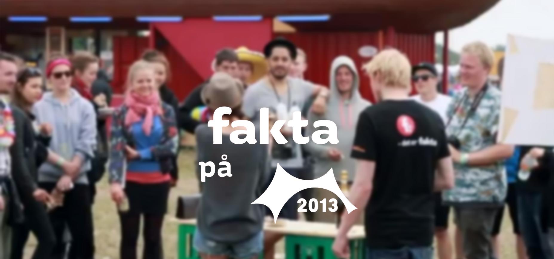 Ideal Pixel med Fakta på Roskilde Festivalen